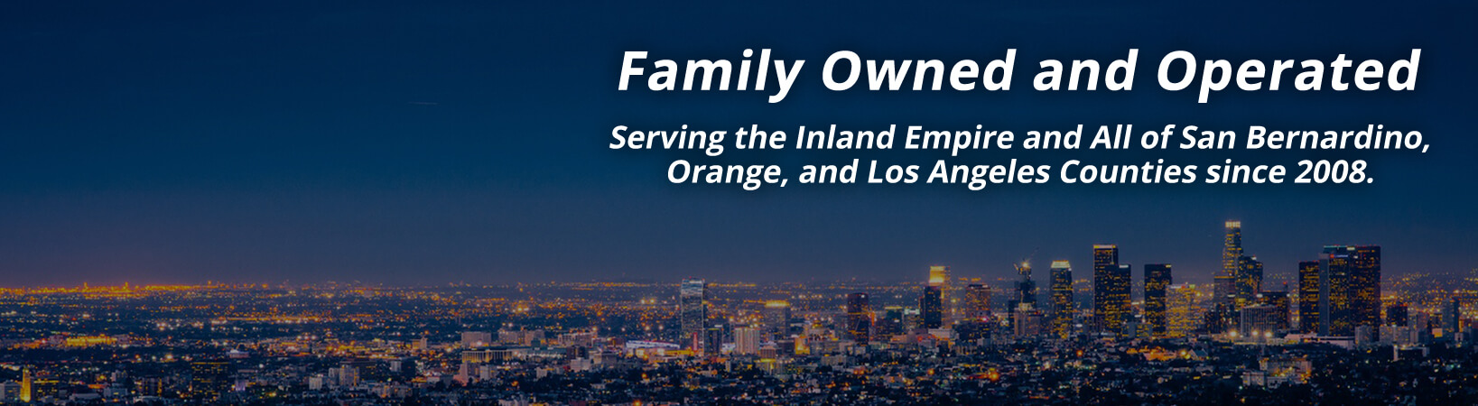 Family owned and operated, Empire Motors has been serving the Inland Empire, San Bernardino, Orange, and Los Angeles counties since 2008.